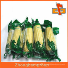 Saco de plástico de vácuo de vácuo transparente para embalagem de milho com excelente impressão