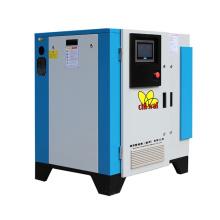 60 cfm Air Compressor Screw Compressor Oil Screw Air Compressor for Sandblasting Textile
