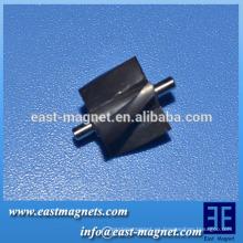 Imán de múltiples polos para ventilador de aire acondicionado / imán de ferrita para sensor de velocidad del vehículo