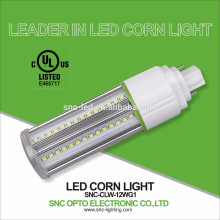 12W G24Q LED PL Lamp / G24 Base LED Corn Light / G24 2 Pin LED Bulb Light