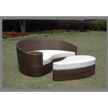Garden Rattan Bed Sale Furniture Set Price