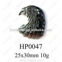 Hématite hawk head Pendants