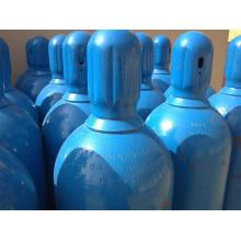 Cilindro de gas industrial y médico