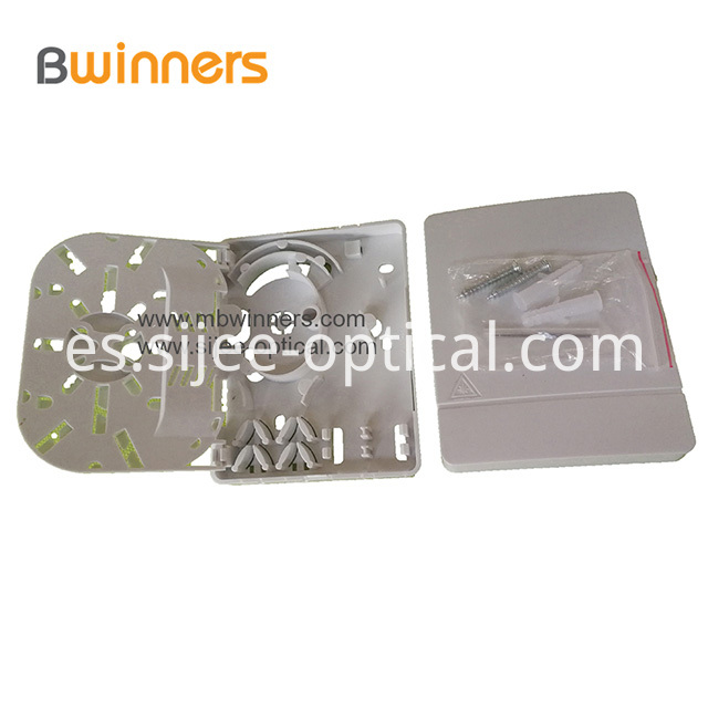 Ftth Fiber Optic Termination Box