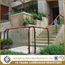 Diseño de barandas de balcones de acero inoxidable