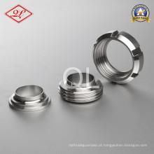Tubulação Sanitária de Aço Inoxidável 13r SMS Round Nut