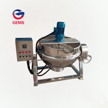 Jacke Kettle Cheese Melting Fruit Jam Making Machine