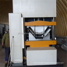 screw-joint/bolted UCM 1000-400 metal cold roof roll forming machine /curve roof span roll forming machine
