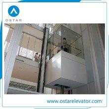 Gruppensteuerung Panorama Aufzugsbeobachtung mit Sightseeing Glas