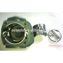 Serra de cadeia de peças de reposição único cilindro para 1E45F 1E45.2F gasolina serra de cadeia