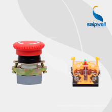 Saip new product push button with light,NC /NOpush button with CE