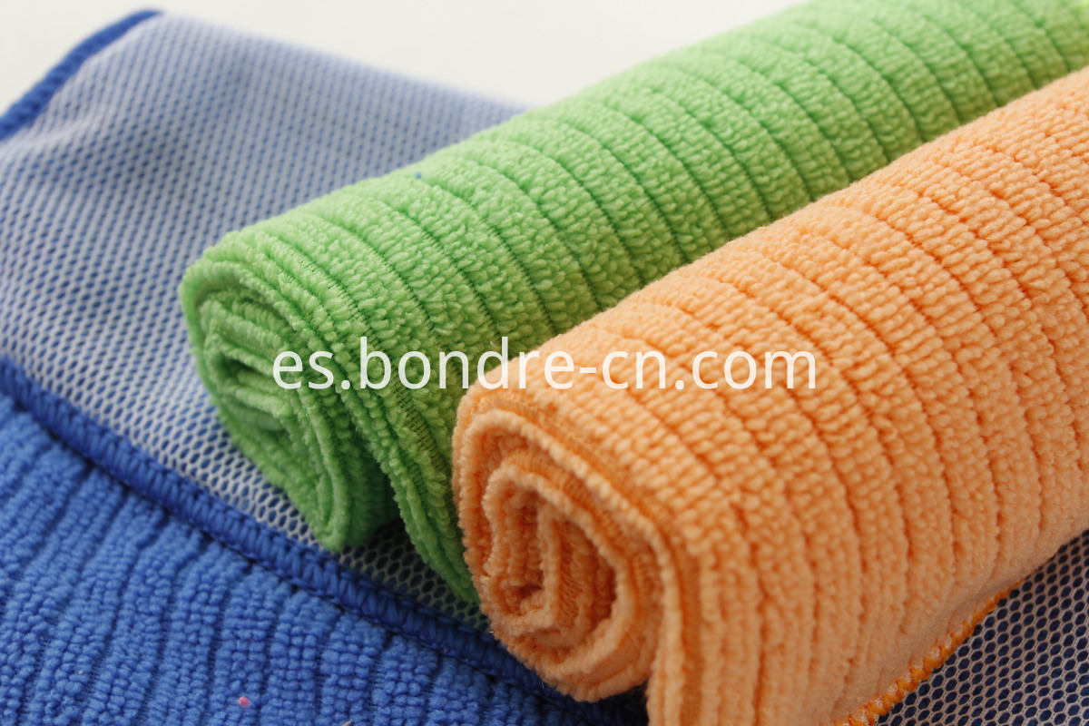 Towels With Nylon Mesh