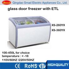 110v ice cream deep freezer with ETL