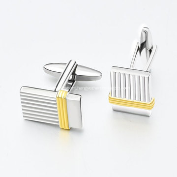 Custom Men's Metal Masonic Gold Plating Cufflink
