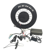 72V5000w vehicle fat tire electric bike conversion kit for sale