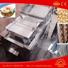 8000 Pieces Boiled Egg Peeling Machine Egg Shell Removing Machine