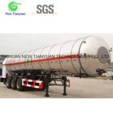 Lco2 Medium 28m3 Volume Liquid Tank Semi-Trailer
