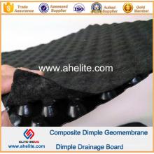 Geomembrana de Dimple HDPE para Ferrovias