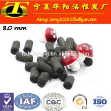 Ningxia 1000mg / g Jodkohle basierte säulenförmige Aktivkohle Käufer