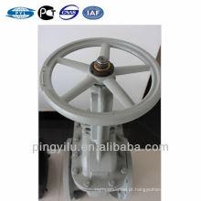 Aço de carbono rússia padrão de bronze jugo porca válvula de portão Z41H-16C