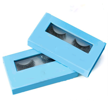 Bande de cheveux humains False Eye Lashes Packaging Marque