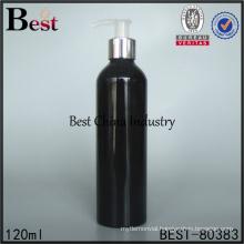 hand painted spray black aluminum bottle