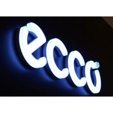 3D Acryl Kanal Buchstaben Zeichen mit LED-Beleuchtung