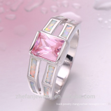 Latest Silver Ring Fashion Charming Gemstone Party Ring for women