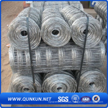 Heavy Duty Easily Assembled Hot Dipped Galvanized Steel Rails Cattle Field Fence