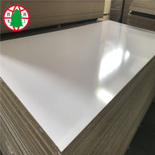Good price plain mdf melamine faced mdf