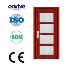 Conception de portes vitrées intérieures utilisé porte en verre congélateur