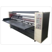 Low cost 100pcs per min corrugated carton thin blade slitting creasing machine