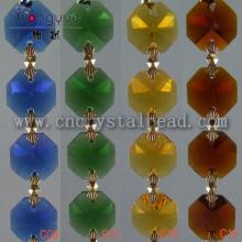 vente en gros de couleur multi chaîne de perles de cristal