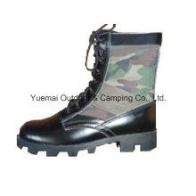 Militär Dschungelstiefel in hochwertigem Leder