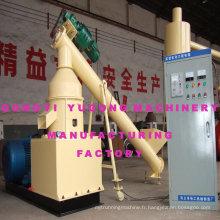 Machine de briqueterie à la biomasse Yugong - Rotation lisse