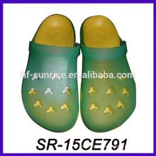 Sol cambiando color eva espuma zapatos eva zuecos zapatos eva zuecos