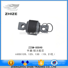 Cheap and durable bus parts torsion rubber core for yutong kinglong higer bus
