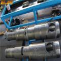 Alta qualidade de rosca dupla cônica e barril para máquina de reciclagem