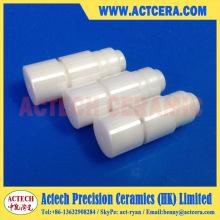 Barras de pistón de cerámica de zirconia precisión mecanizado/superficie pulido