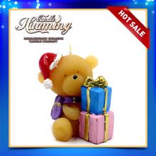 Cute Bear Shaped Hochzeit Kerze