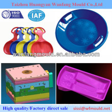 Proveedor de moldes de plástico de alta calidad para bebés, juguetes de juguetes para niños / moldes personalizados para bricolaje / moldes para tablas de esquí de trineo redondas