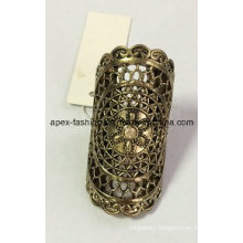Lace Hollow Metal Ring with SGS Approved