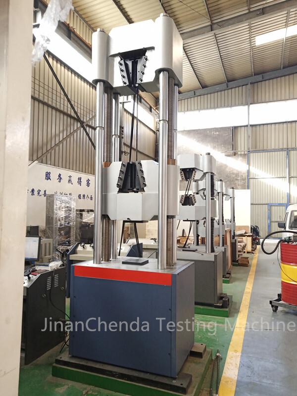 Steel Strand Tensile test