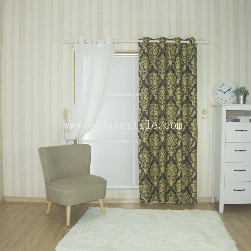 USA market window curtain fabric WZQ1537A