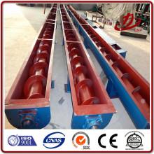 Máquina transportadora de parafuso flexível para cimento de cimento de grãos com grande capacidade