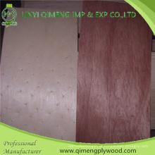 Pele da porta de Bintangor da madeira compensada de Bintangor do tamanho da porta do tamanho de 1.5-5.0mm Samll