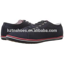 Novo modelo baratos atacado sapatos de lona para homens