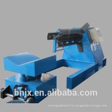Bobina de acero de 5 toneladas totalmente automática Desensiladora hidráulica (Traiga el coche esperado)