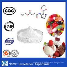 99,8% Pureté CAS 22839-47-0 Édulcorant à l'aspartame en poudre en vrac