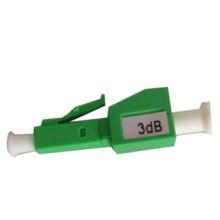 Atenuador de fibra óptica ftth / atenuador de fibra macho para fêmea lc apc 3db 5db